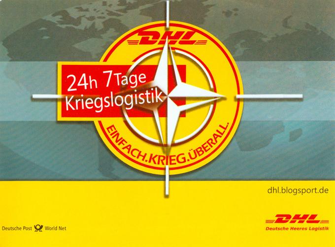DHL - 24 h 7 Tage Kriegslogistik