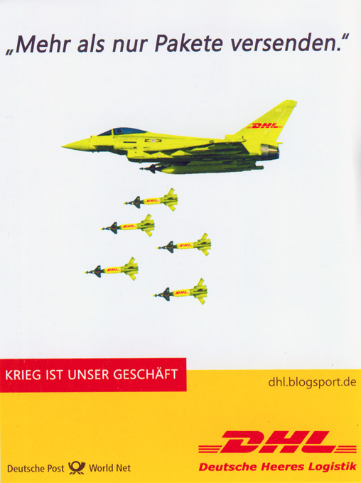 Deutsche Heeres Logistik (DHL): Krieg ist unser Geschäft