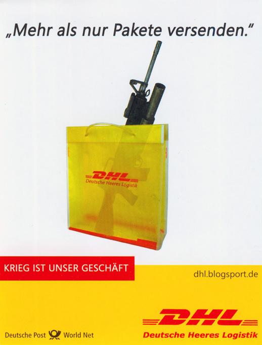 Deutsche Post World Net: Mehr als nur Pakete versenden. Krieg ist unser Geschäft