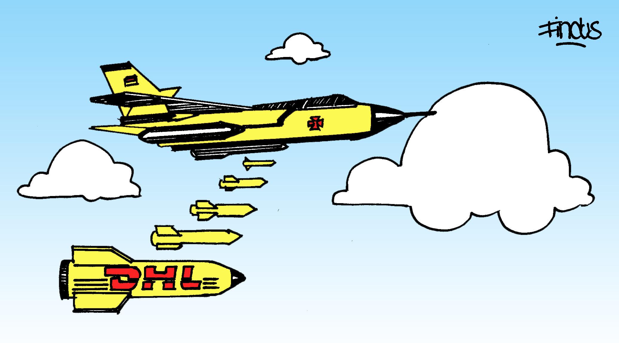 DHL Bundeswehr Findus