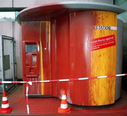 DHL-Paketstation Wuppertal