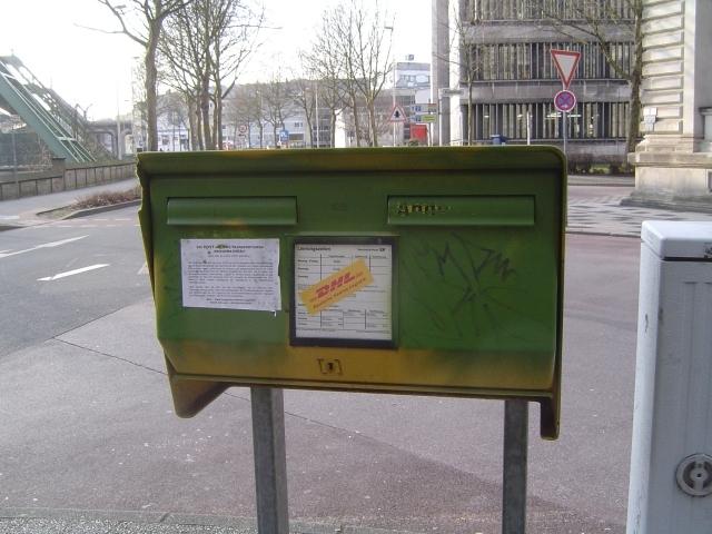 DHL-Aktion Wuppertal 1